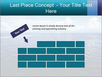 Blue Oceanic Water PowerPoint Templates - Slide 46
