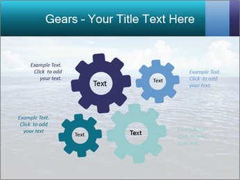 Blue Oceanic Water PowerPoint Templates - Slide 47