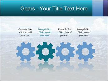 Blue Oceanic Water PowerPoint Templates - Slide 48