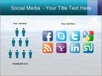 Blue Oceanic Water PowerPoint Templates - Slide 5