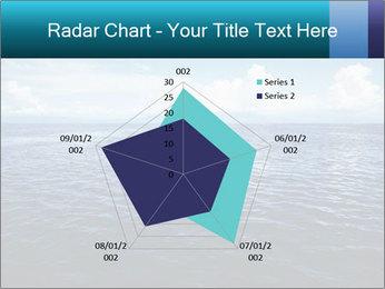 Blue Oceanic Water PowerPoint Templates - Slide 51