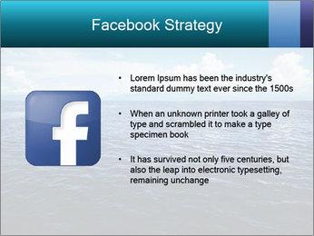 Blue Oceanic Water PowerPoint Templates - Slide 6