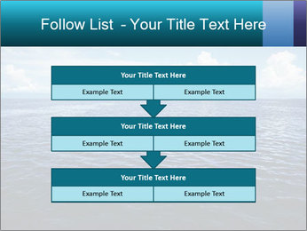 Blue Oceanic Water PowerPoint Templates - Slide 60