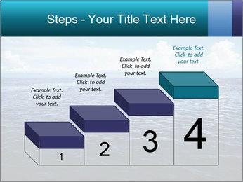 Blue Oceanic Water PowerPoint Templates - Slide 64
