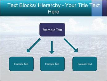 Blue Oceanic Water PowerPoint Templates - Slide 69