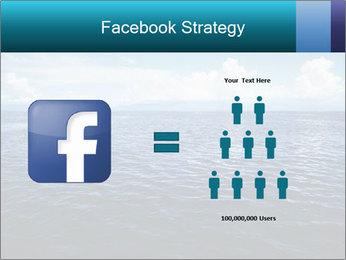 Blue Oceanic Water PowerPoint Templates - Slide 7