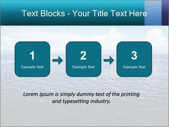 Blue Oceanic Water PowerPoint Templates - Slide 71