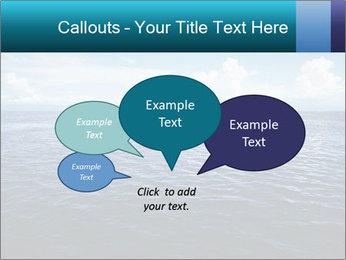 Blue Oceanic Water PowerPoint Templates - Slide 73