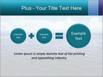 Blue Oceanic Water PowerPoint Templates - Slide 75