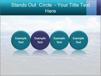 Blue Oceanic Water PowerPoint Templates - Slide 76