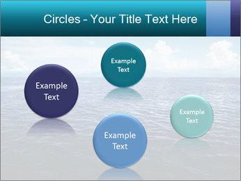 Blue Oceanic Water PowerPoint Templates - Slide 77