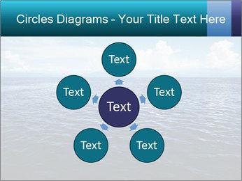 Blue Oceanic Water PowerPoint Templates - Slide 78