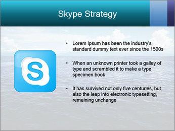 Blue Oceanic Water PowerPoint Templates - Slide 8