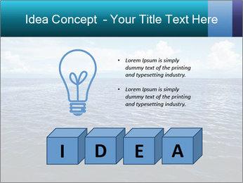 Blue Oceanic Water PowerPoint Templates - Slide 80