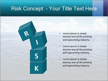 Blue Oceanic Water PowerPoint Templates - Slide 81