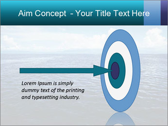 Blue Oceanic Water PowerPoint Templates - Slide 83