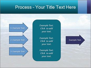 Blue Oceanic Water PowerPoint Templates - Slide 85