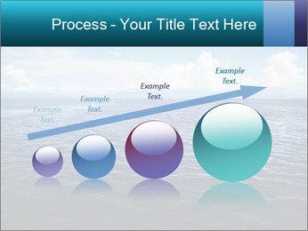 Blue Oceanic Water PowerPoint Templates - Slide 87