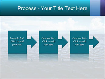 Blue Oceanic Water PowerPoint Templates - Slide 88