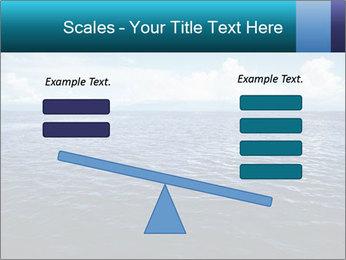 Blue Oceanic Water PowerPoint Templates - Slide 89