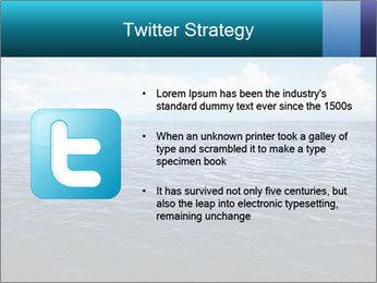 Blue Oceanic Water PowerPoint Templates - Slide 9