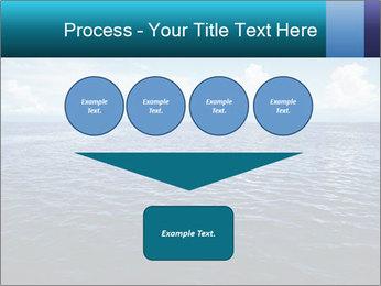 Blue Oceanic Water PowerPoint Templates - Slide 93