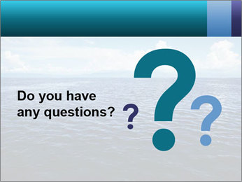Blue Oceanic Water PowerPoint Templates - Slide 96