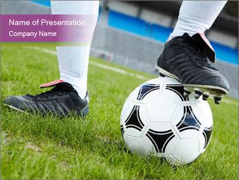 Football Training PowerPoint Template - Slide 1