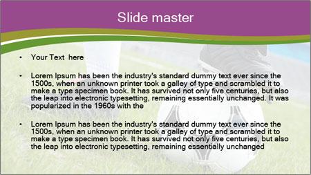 Football Training PowerPoint Template - Slide 2