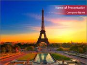 Magic Eiffel Tour PowerPoint Templates