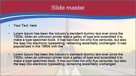 Magic Eiffel Tour PowerPoint Template - Slide 2