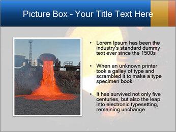 Golden Liquid PowerPoint Templates - Slide 13
