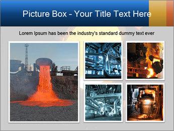 Golden Liquid PowerPoint Templates - Slide 19
