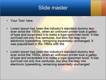 Golden Liquid PowerPoint Templates - Slide 2