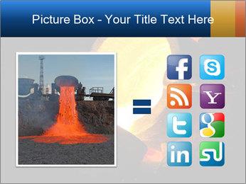 Golden Liquid PowerPoint Templates - Slide 21