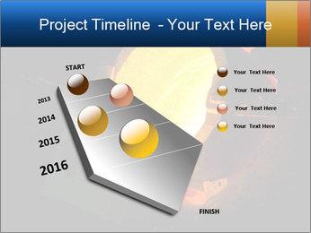 Golden Liquid PowerPoint Templates - Slide 26