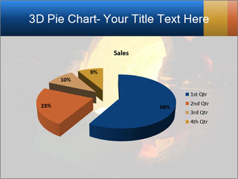 Golden Liquid PowerPoint Templates - Slide 35