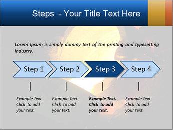 Golden Liquid PowerPoint Templates - Slide 4