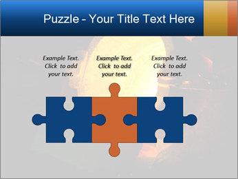 Golden Liquid PowerPoint Templates - Slide 42