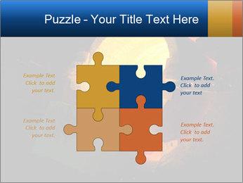 Golden Liquid PowerPoint Templates - Slide 43