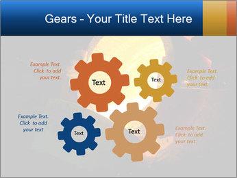 Golden Liquid PowerPoint Templates - Slide 47