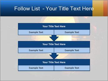 Golden Liquid PowerPoint Templates - Slide 60