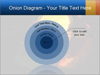 Golden Liquid PowerPoint Templates - Slide 61
