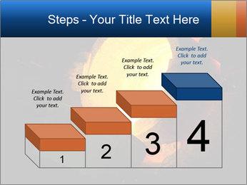Golden Liquid PowerPoint Templates - Slide 64