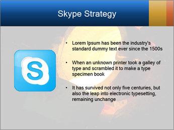 Golden Liquid PowerPoint Templates - Slide 8