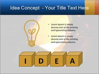 Golden Liquid PowerPoint Templates - Slide 80