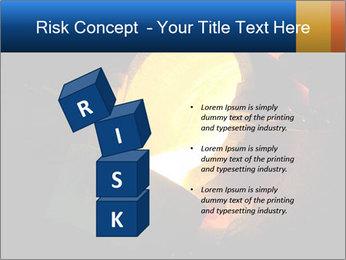 Golden Liquid PowerPoint Templates - Slide 81