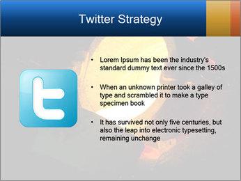 Golden Liquid PowerPoint Templates - Slide 9