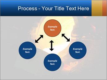 Golden Liquid PowerPoint Templates - Slide 91