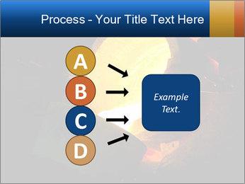 Golden Liquid PowerPoint Templates - Slide 94